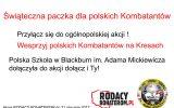 Przyłącz się do ogólnopolskiej akcji! Wesprzyj polskich Kombatantów na Kresach