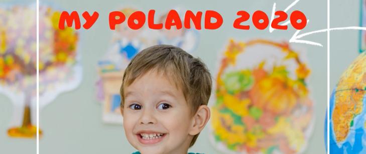 """Konkurs plastyczny """"Moja Polska"""""""
